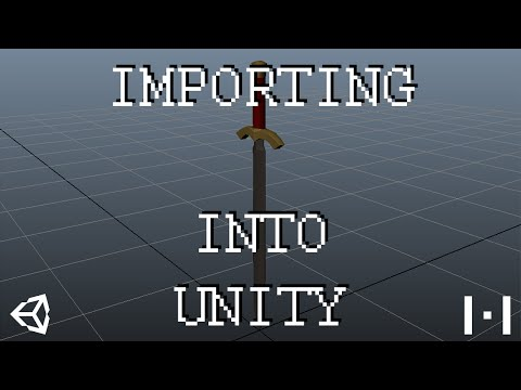 How to Import 3D Models into Unity - YouTube