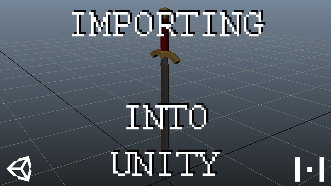 How to Import 3D Models into Unity