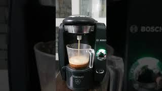 보쉬 타시모 CTPM01 캡슐 커피머신 작동 테스트