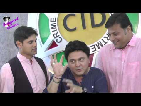 On Location of TV Series  'CID' with Ali Asgar & Cast