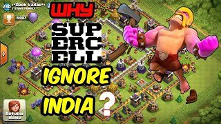 Why Supercell & Clash Of Clans Ignore India and Indian Players