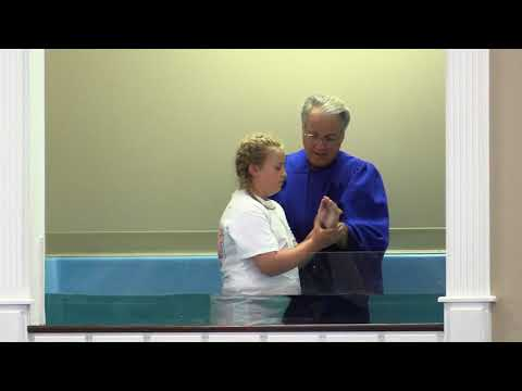 Baptism Service - June 2018 - Union Grove Baptist Church - Live Stream
