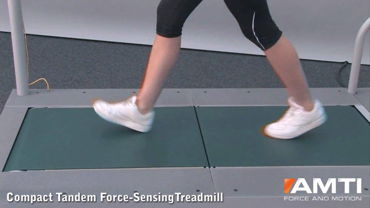 Amti Compact Tandem Force Sensing Treadmill Youtube