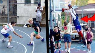 UCLA College Kids Get EXPOSED! Frat House Basketball!