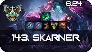 Skarner Jungle vs Skarner Master Preseason 7 Season 7 s7 Patch 6.24 2017 Gameplay Guide Build