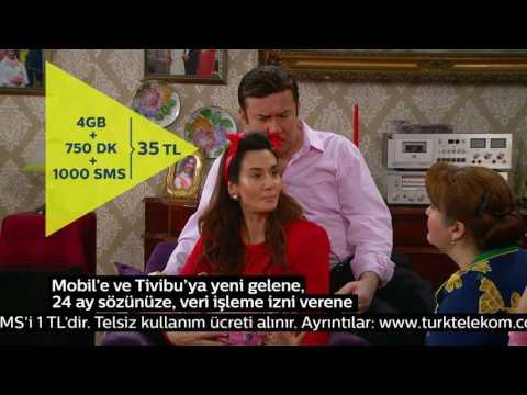 A'dan Z'ye Tivibu keyfi Türk Telekom Mobil'de!