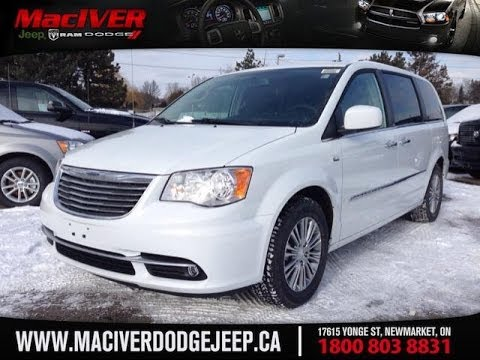 Jeep Chrysler Dodge Of Ontario >> 2014 Chrysler Town and Country Touring-L 30th Anniversary | MacIver Dodge Jeep | Newmarket ...