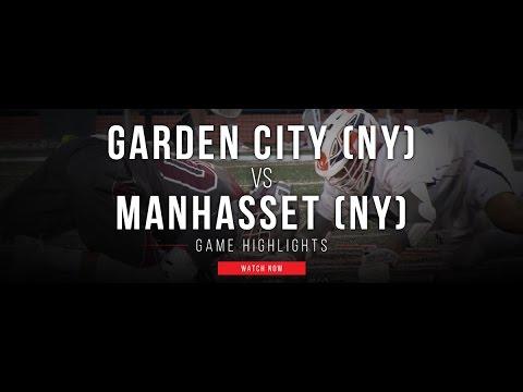 Garden City (NY) vs Manhasset (NY) | 2017 High School Lacrosse Highlights