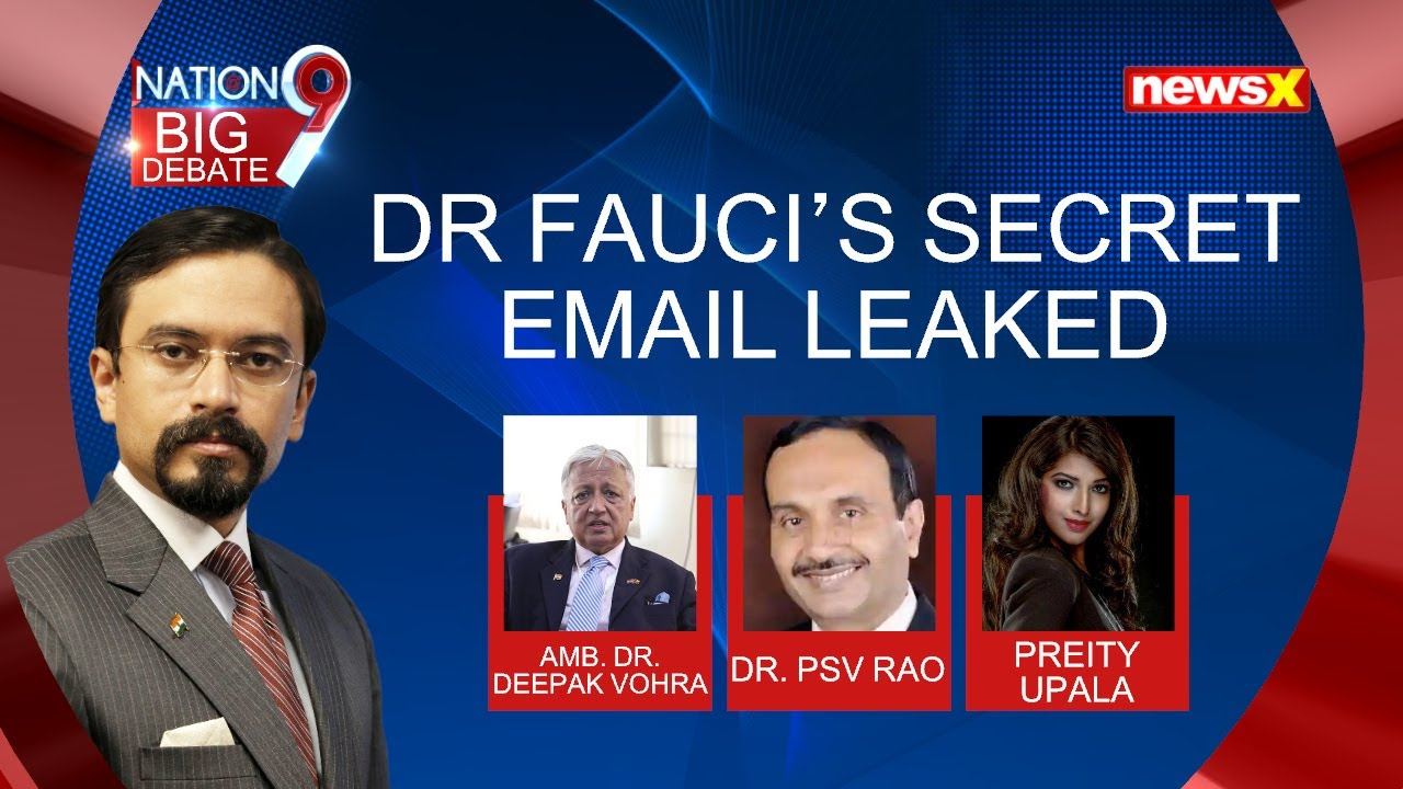 Dr. Fauci's Secret Email Leaked | Downplayed Wuhan lab Leak Theory | NewsX