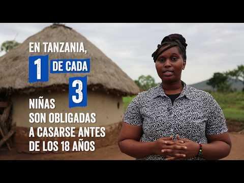 ¡Firma y di no al matrimonio infantil en Tanzania!