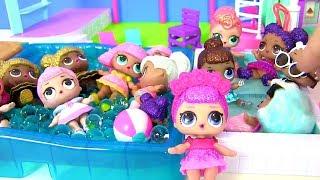 Куклы Лол Мультик! Вечеринка Лол для Невесты Шопкинс! Свадьба в Париже! Детский Мультик