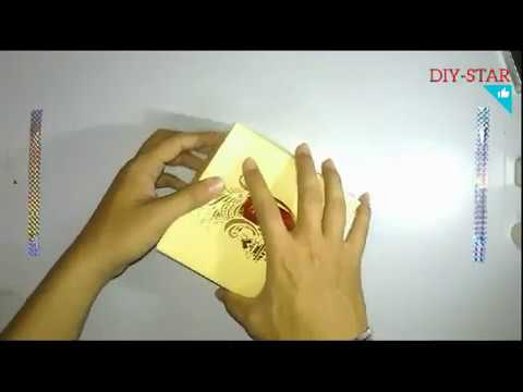 Recycle wedding cards (DIY).