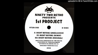 1st PRODJECT - RIGHT BEFORE (UNRELEASED)