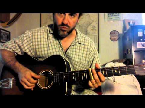 Jon Shain - Vigilante Man by Woody Guthrie (additional lyrics by Jon Shain)