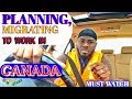 Jamaican Trucker Speaks about his Trucking Experience In Canada & how to be on budget. VLOG # 01