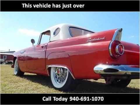 1956 ford thunderbird used cars wichita falls tx youtube. Black Bedroom Furniture Sets. Home Design Ideas
