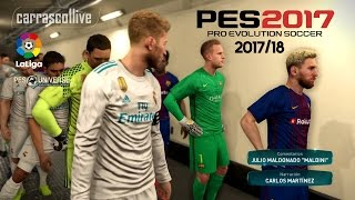fc barcelona real madrid 2017 18 kits pes 2017