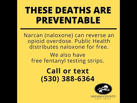 Overdoses in Nevada County