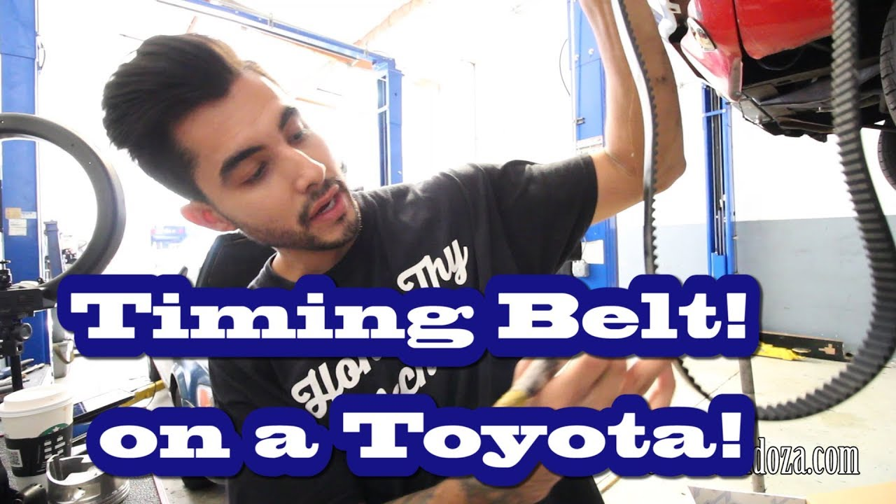 2001 Toyota Camry Timing Belt Replacement Youtube Diagram