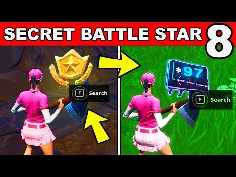WEEK 8 SECRET BATTLE STAR FOUND AT A LOCATION HIDDEN WITHIN LOADING SCREEN 8 REPLACED FORTBYTE 97