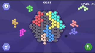HEX BLOCKS PUZZLE - ADVANCE TO BIG BOARD LEVEL 21-30