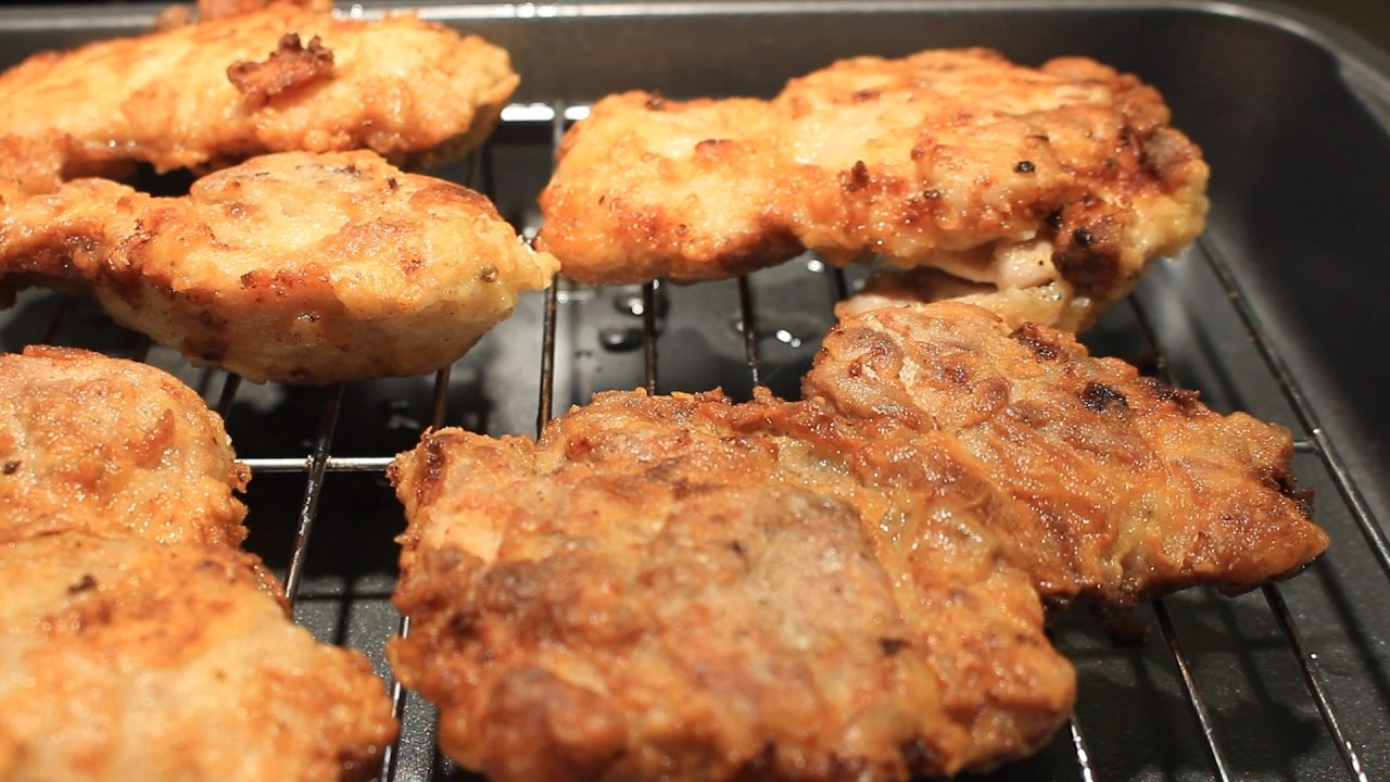 How To Cook Chicken Fried Chicken Thighs ~ Easy & Delicious How To Cook  Chicken Fried