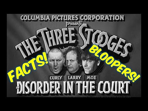 "Season 1 Ep. 15--The Three Stooges--""Disorder in the Court""--BLOOPERS, FACTS, and MORE!!"