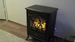 My New Decorative Wood Stove Heater Fireplace