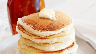 How to Make Pancakes Without Milk