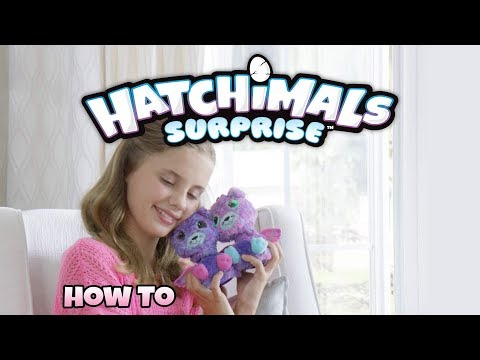 Hatchimals Surprise - How To