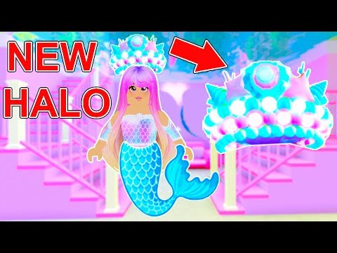 Youtube Roblox Royal High Mermaid How To Win The Mermaid Halo In Royale High Roblox Youtube