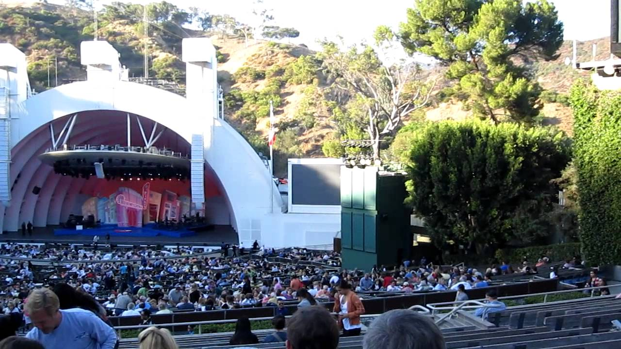 Hollywood bowl theatre youtube for Terrace 3 hollywood bowl