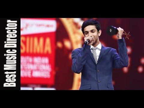 Micromax Siima 2015 | Best Music Director Tamil | Anirudh | Velai Illa Pattadhari