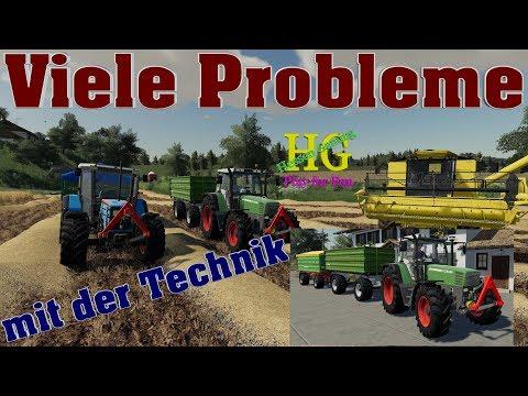 Viele Probleme mit der Technik
