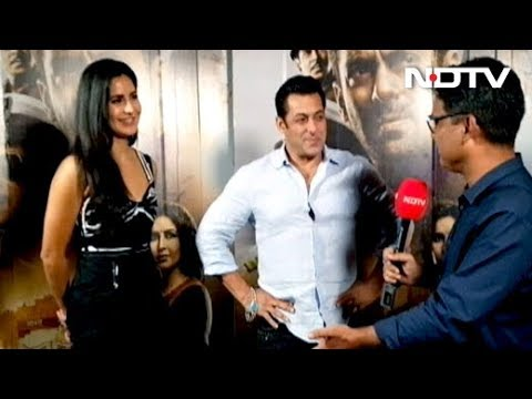 Salman Khan & Katrina Kaif On Bharat's Success