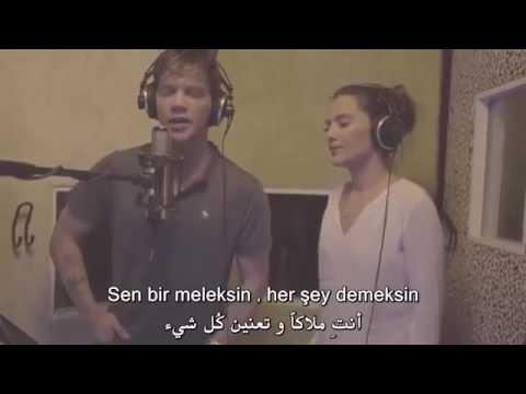 Sinan Akçıl ft. Demet Akalın - Vazgeçilmezim اغنية تركيا مترجمة