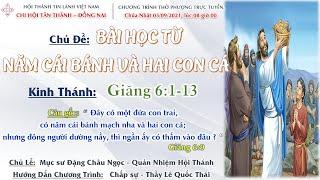 HTTL TÂN THÀNH -  Chương trình thờ phượng Chúa - 05/09/2021