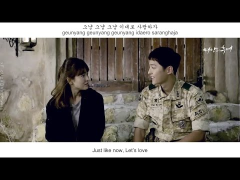 SG Wannabe - By My Side FMV (Descendant Of The Sun OST Part 8)[Eng Sub + Rom + Han]