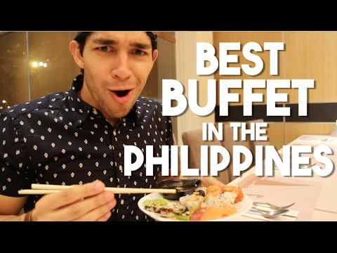 The Best Buffet in the Philippines (Filipino Food Trip)
