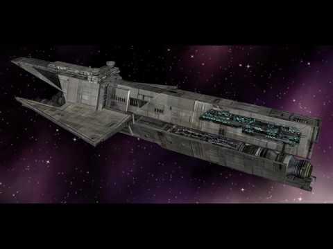 MC80 Home one vs. Aggressor class Star Destroyer