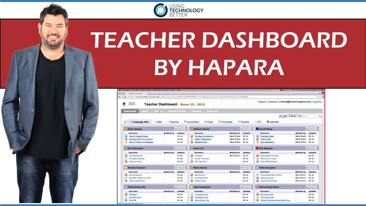 How To Use Hapara Dashboard Workspace Lessons Tes Teach