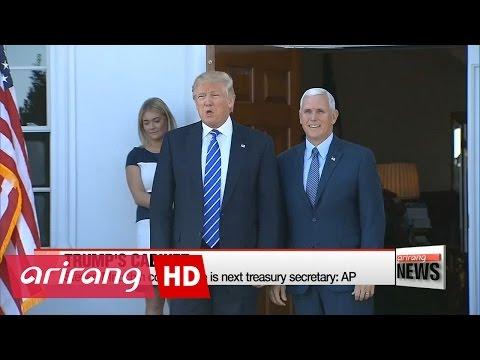 Trump to announce more cabinet picks, Mnuchin confirms pick