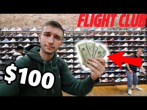 WHAT CAN $100 BUY you at FLIGHT CLUB? I WAS SHOCKED!