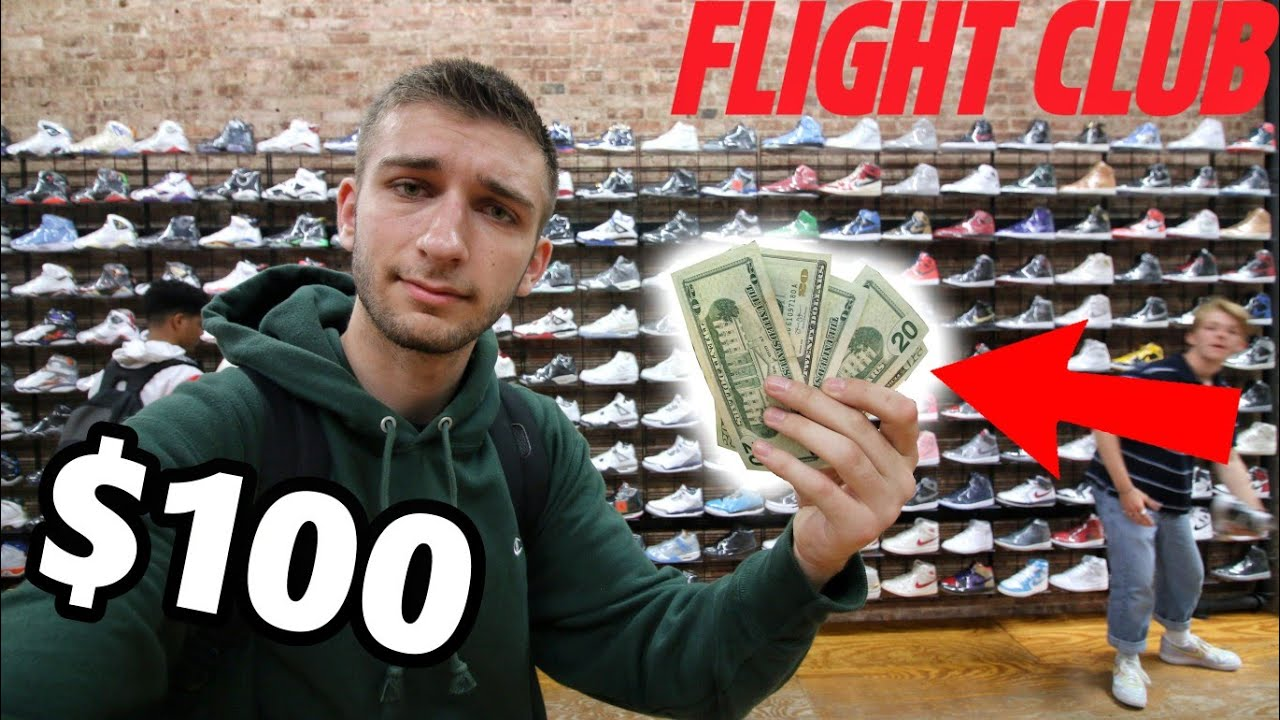 WHAT CAN  100 BUY you at FLIGHT CLUB  I WAS SHOCKED! - YouTube 1ff15a29f