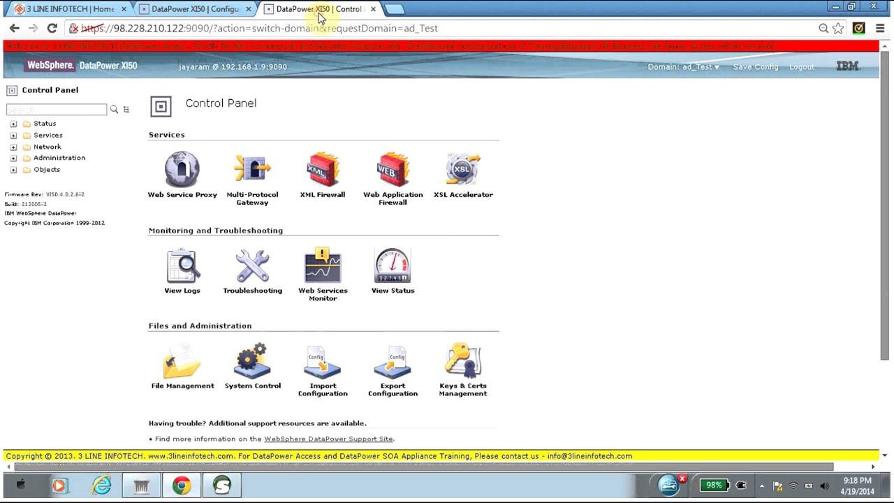 SSL - Digital Signature Using Certificate in DataPower