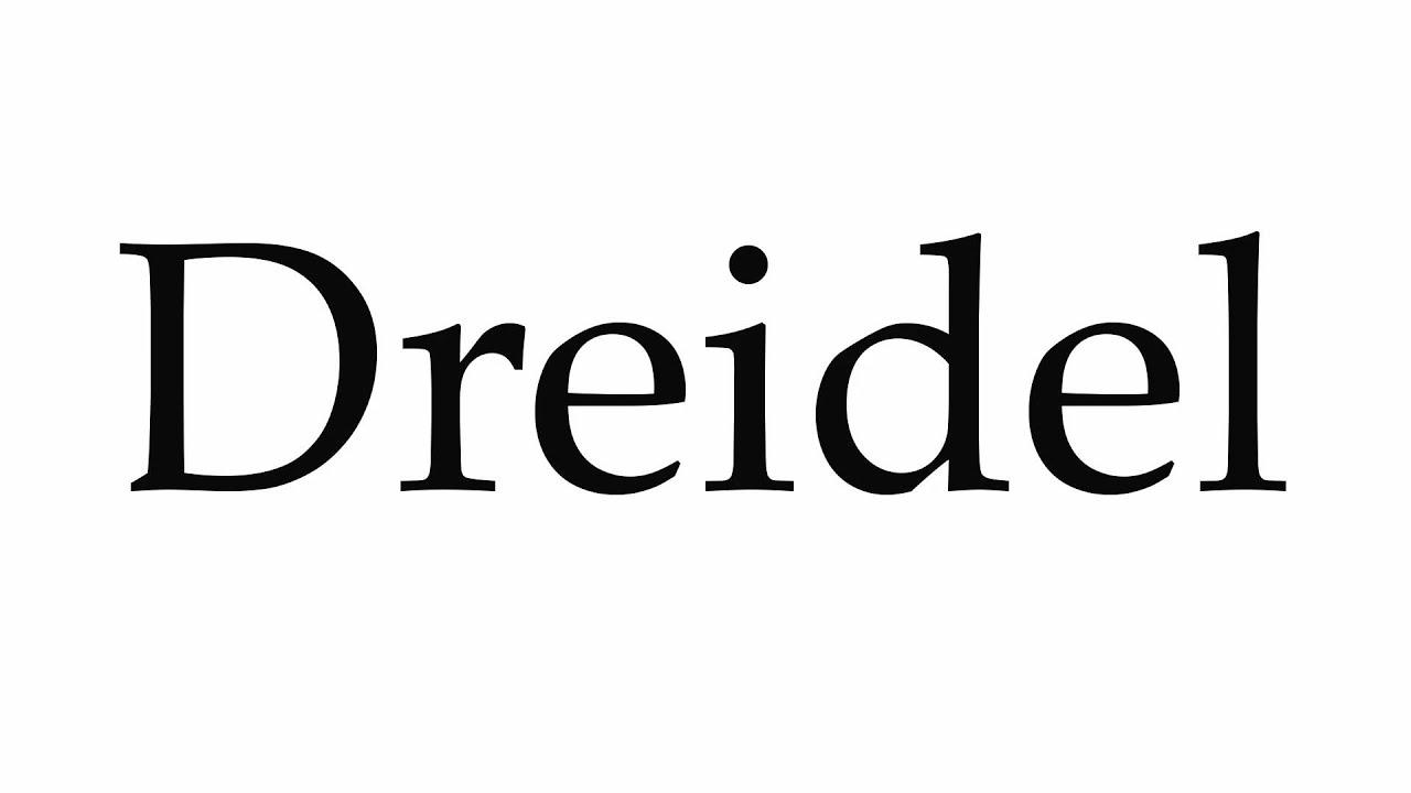 How to pronounce dreidel youtube how to pronounce dreidel biocorpaavc