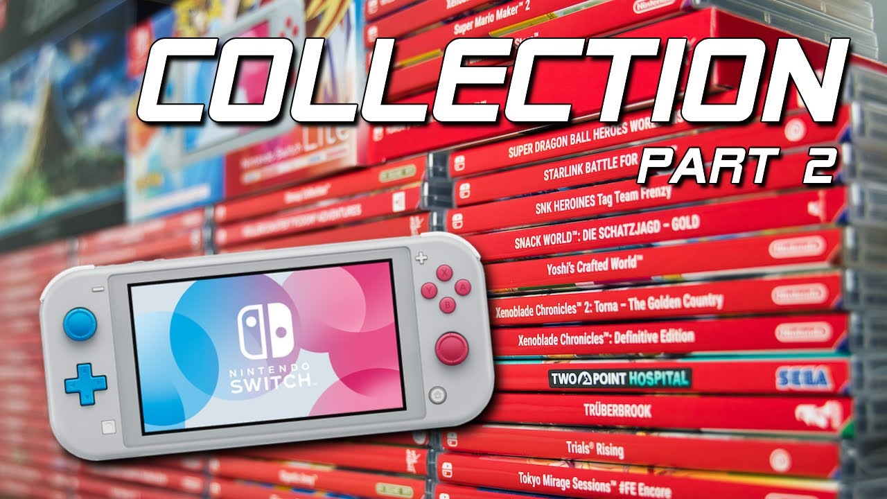 Meine NINTENDO SWITCH Sammlung / Collection (PART 2)