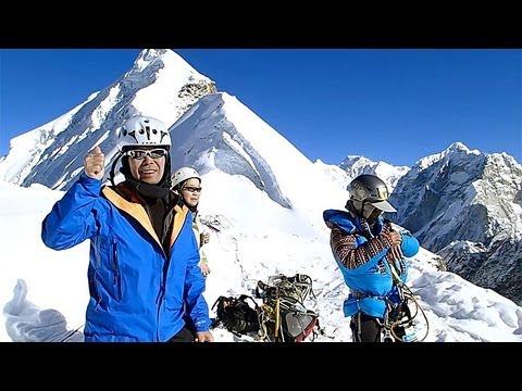 [エベレスト登頂へ] #04 ロブチェピーク編 WIN THE SUMMIT Project - Columbia