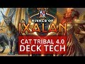 Cat Tribal 4.0 Rivals of Ixalan Standard Deck Tech MTG