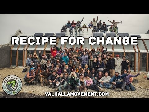 Recipe For Change  Ushuaia Off Grid Earthship Build DOCUMENTARY Garbage Warrior Michael Reynolds